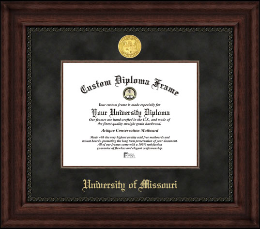 University of Missouri  Executive Diploma Frame