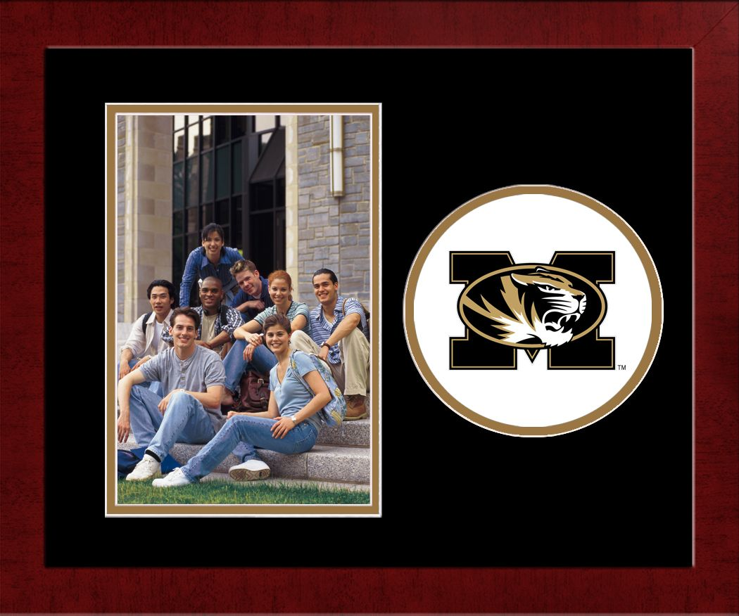 University of Missouri Spirit Photo Frame (Vertical)