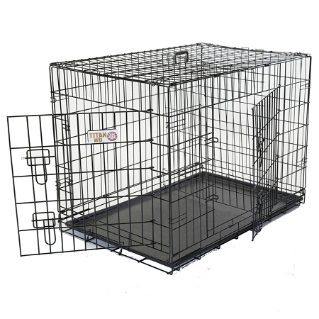Majestic Pet Large Two Door Dog Crate - MP-1236