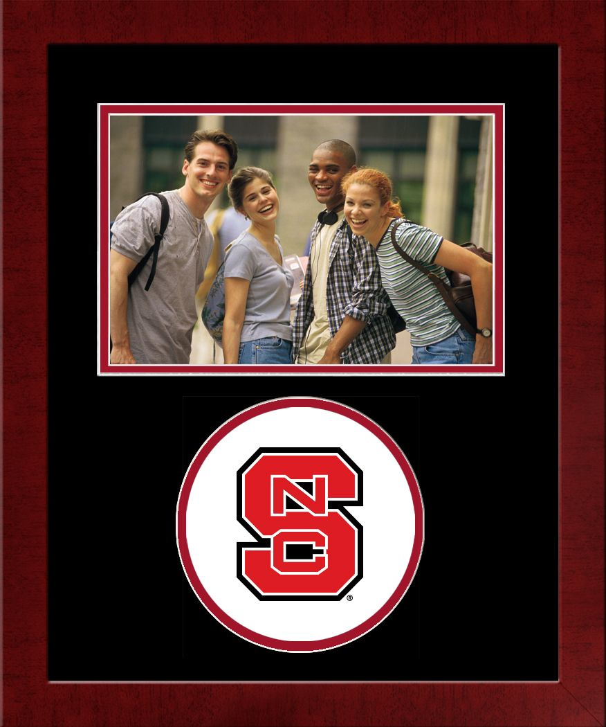 North Carolina State University Spirit Photo Frame (Horizontal)