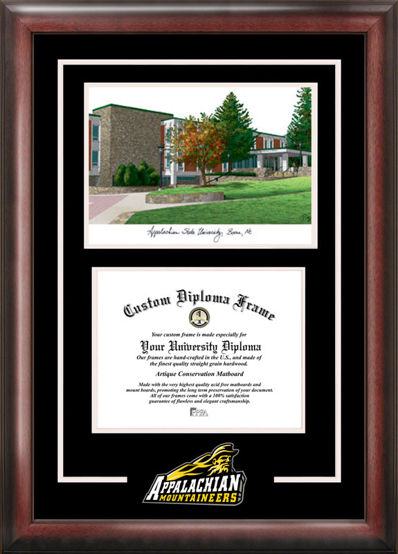 Appalachian State University Spirit Graduate Frame with Campus Image