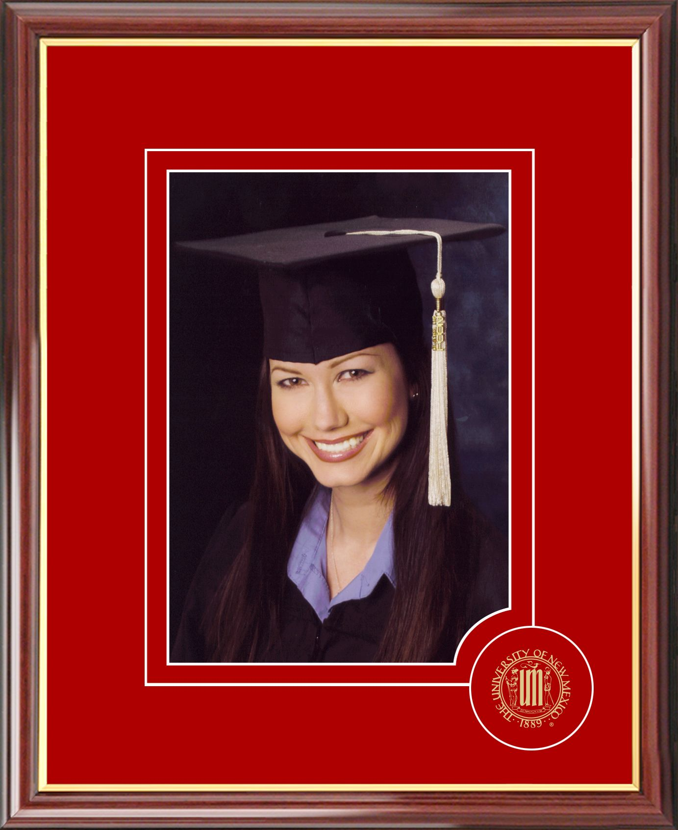 University of New Mexico 5X7 Graduate Portrait Frame