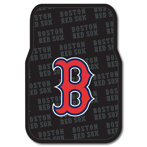 Boston Red Sox MLB Car Front Floor Mats (2 Front) (17x25