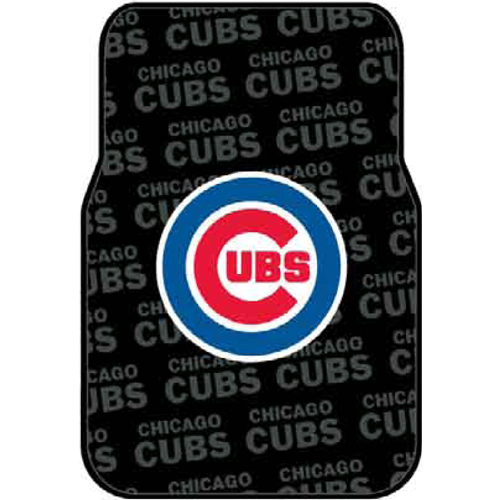"Chicago Cubs MLB Car Front Floor Mats (2 Front) (17x25"")"" - NOR-1MLB343000006RET"