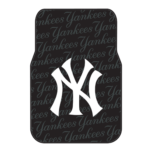 New York Yankees MLB Car Front Floor Mats (2 Front) (17x25