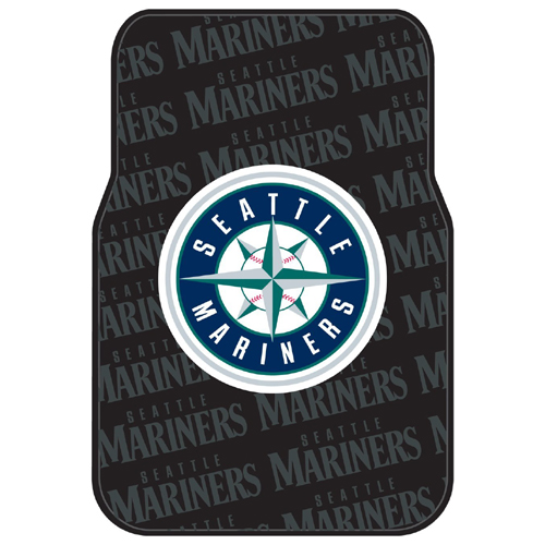 Seattle Mariners MLB Car Front Floor Mats (2 Front) (17x25