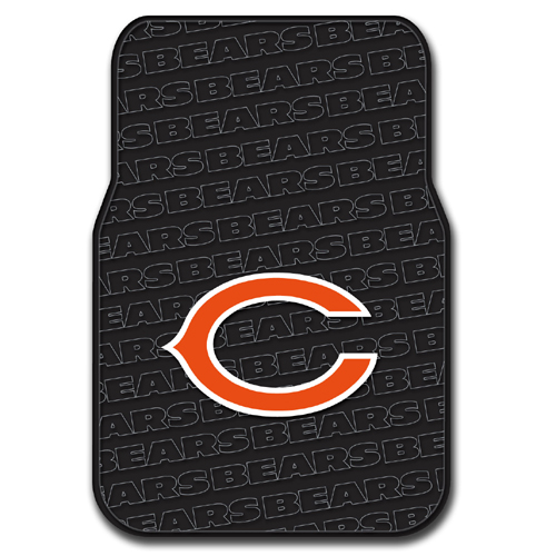 Chicago Bears NFL Car Front Floor Mats (2 Front) (17x25