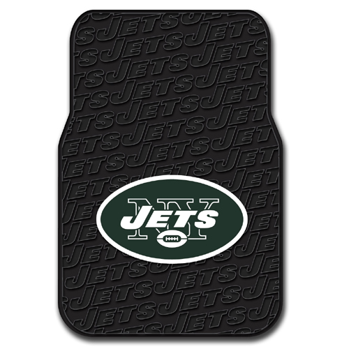 New York Jets NFL Car Front Floor Mats (2 Front) (17x25