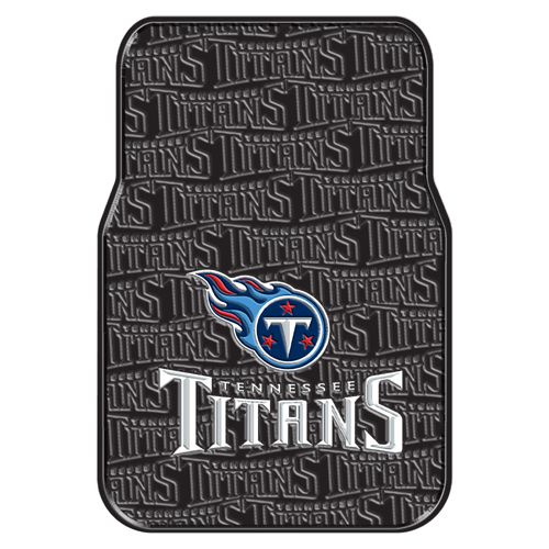 Tennessee Titans NFL Car Front Floor Mats (2 Front) (17x25