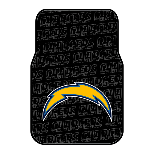 San Diego Chargers NFL Car Front Floor Mats (2 Front) (17x25