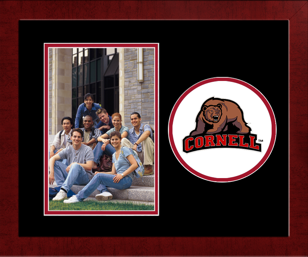 Cornell University Spirit Photo Frame (Vertical)