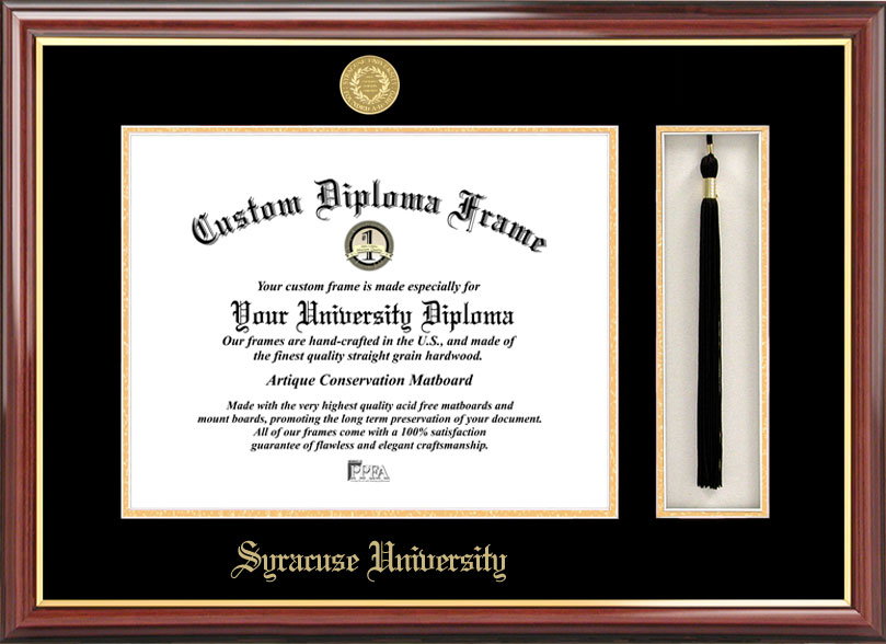 Syracuse University Tassel Box And Diploma Frame Katerno Com