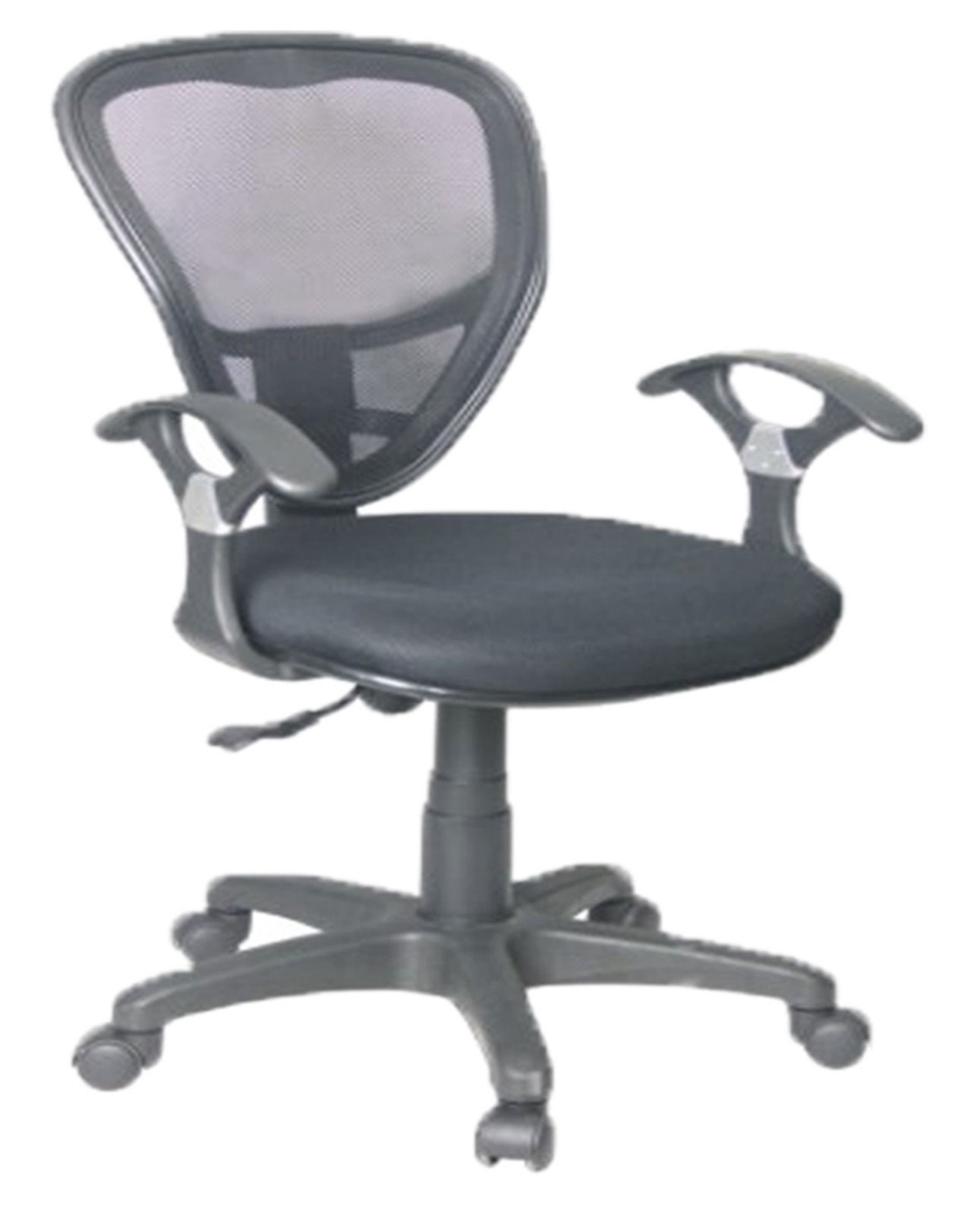 Artek Computer Desk Manager Office Chair w Black Mesh Fabric
