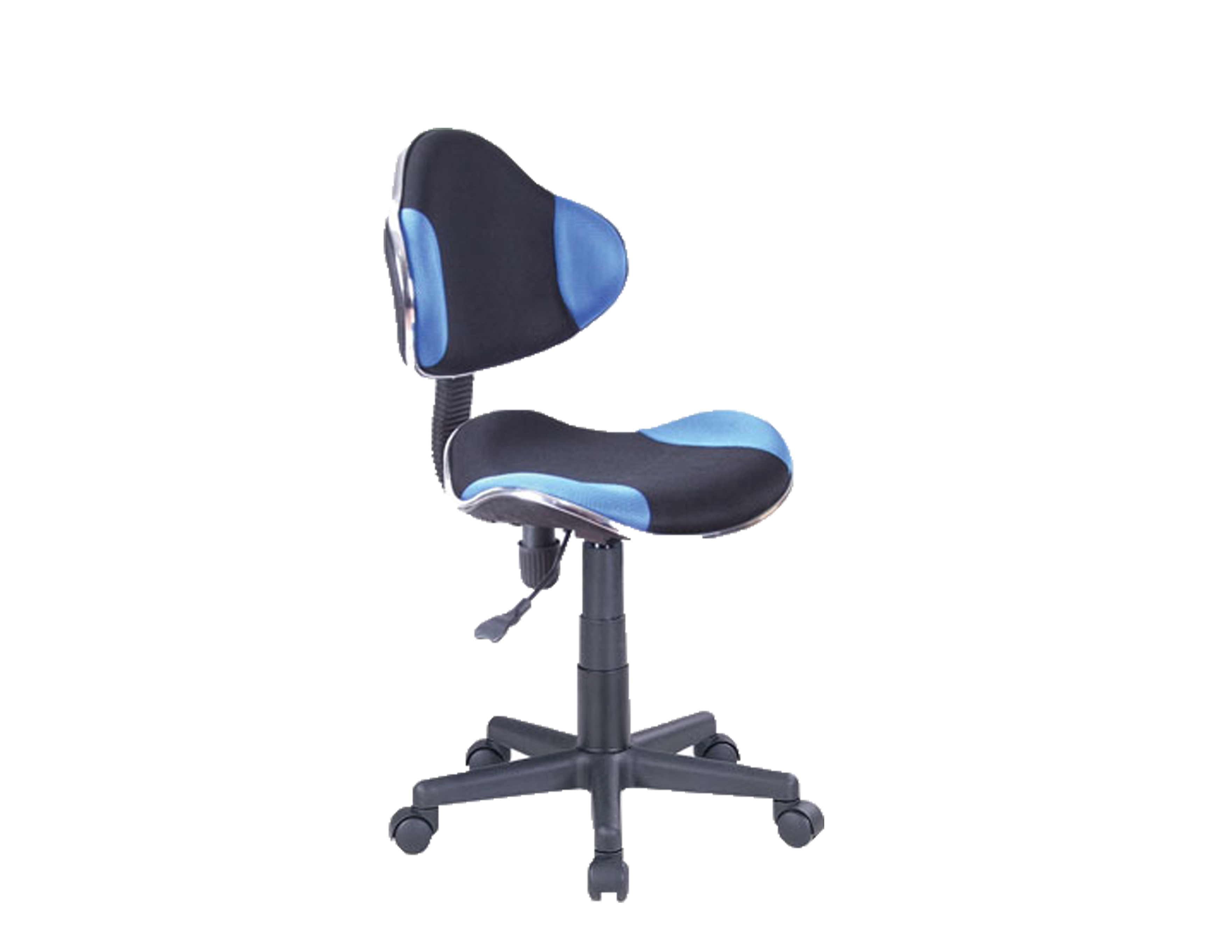 Computer Desk Office Chair w Blue Mesh Fabric - OC-G2B-BL