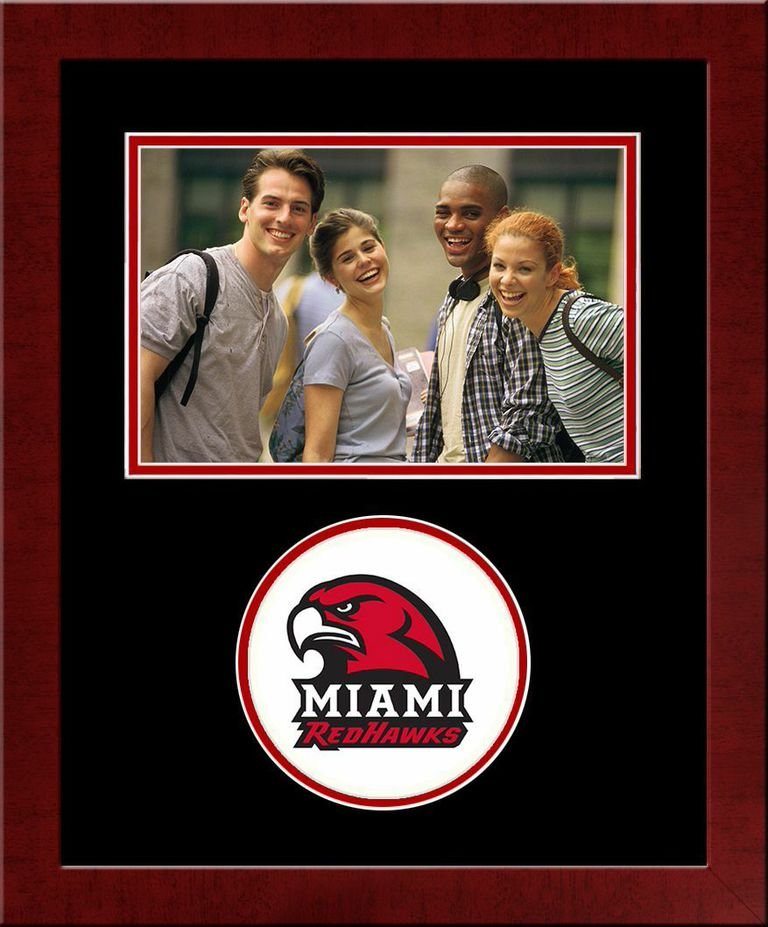 Miami University Ohio Spirit Photo Frame (Horizontal)