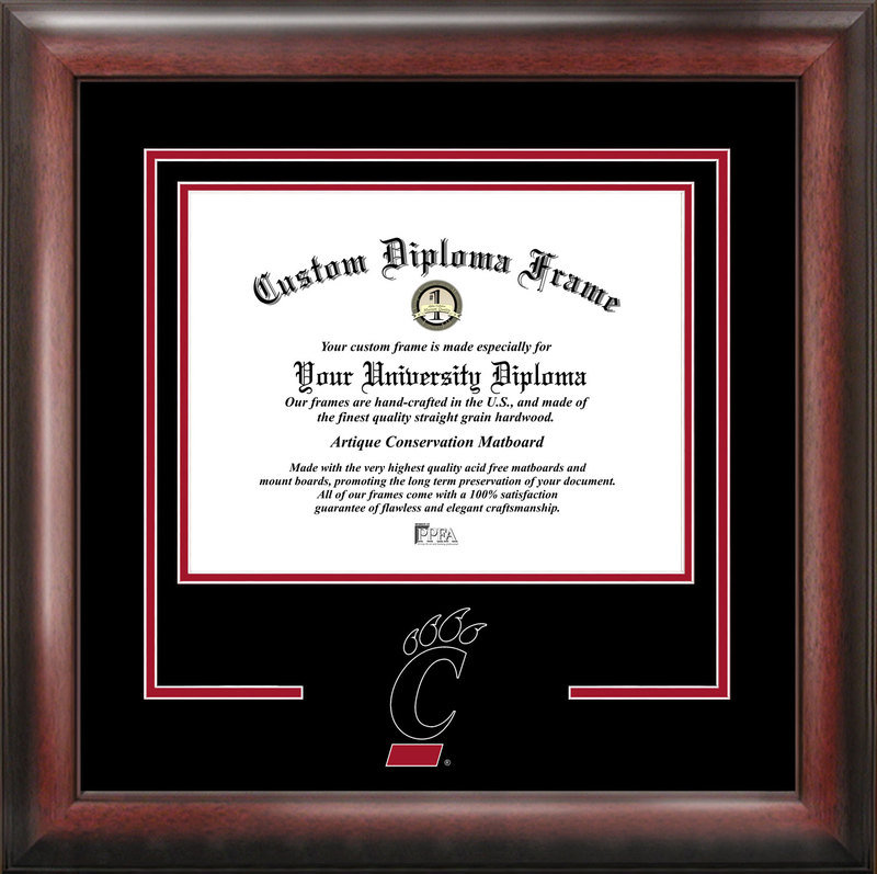 University of Cincinnati Spirit Diploma Frame