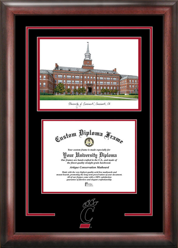 University of Cincinnati Spirit Graduate Frame