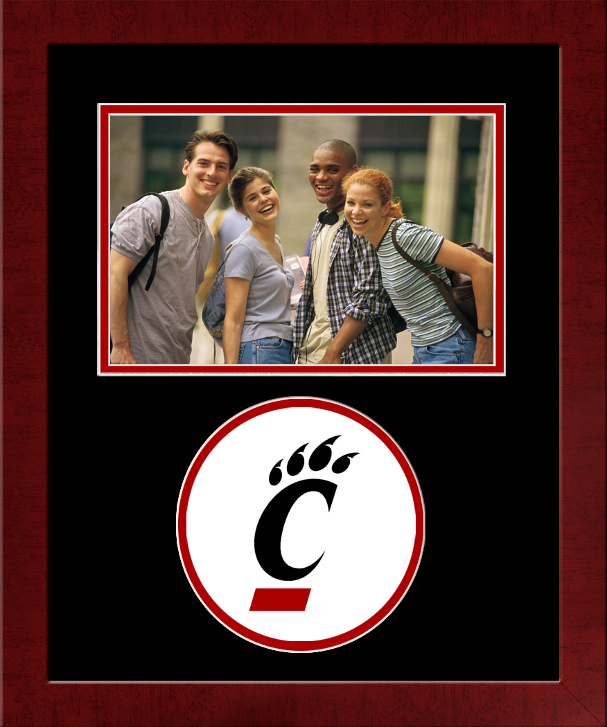 University of Cincinnati Spirit Photo Frame (Horizontal)