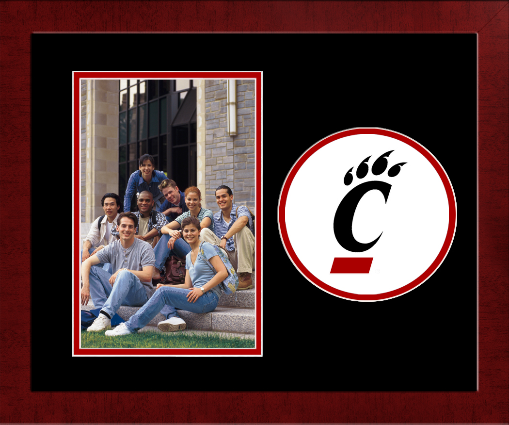 University of Cincinnati Spirit Photo Frame (Vertical)