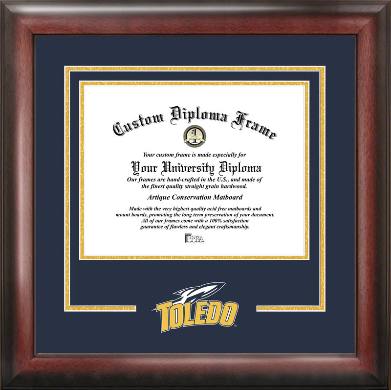 University of Toledo Spirit Diploma Frame