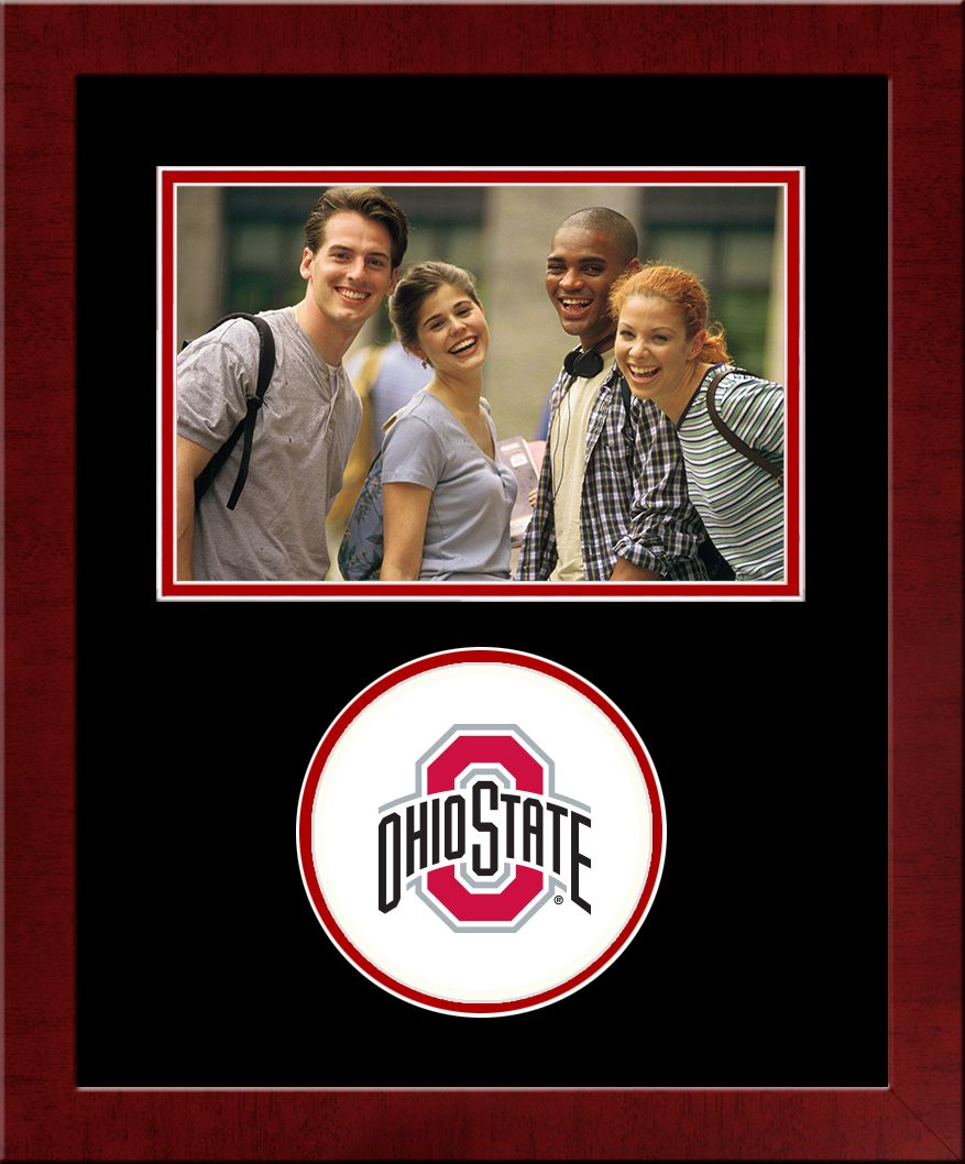 Ohio State University Spirit Photo Frame (Horizontal)