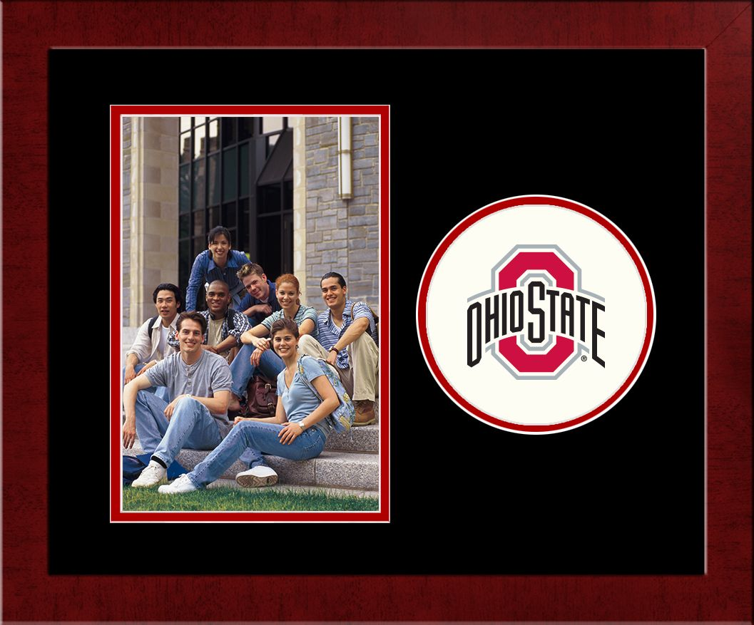 Ohio State University Spirit Photo Frame (Vertical)