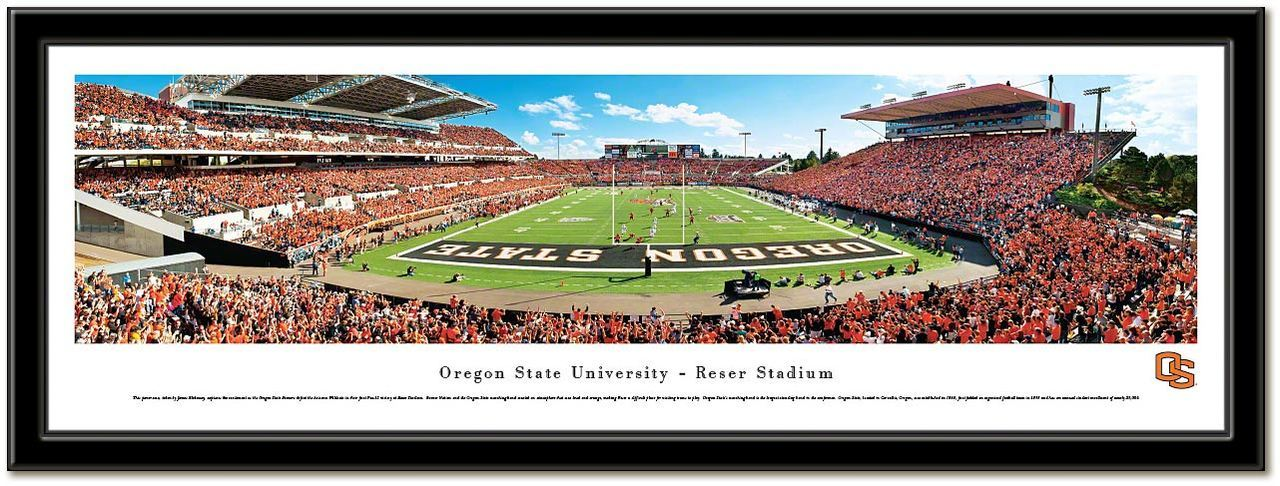 Oregon State University Framed Stadium Print