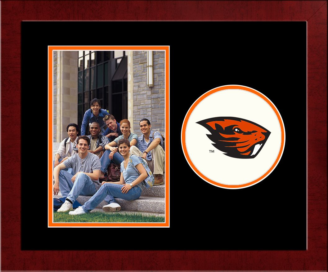 Oregon State University Spirit Photo Frame (Vertical)