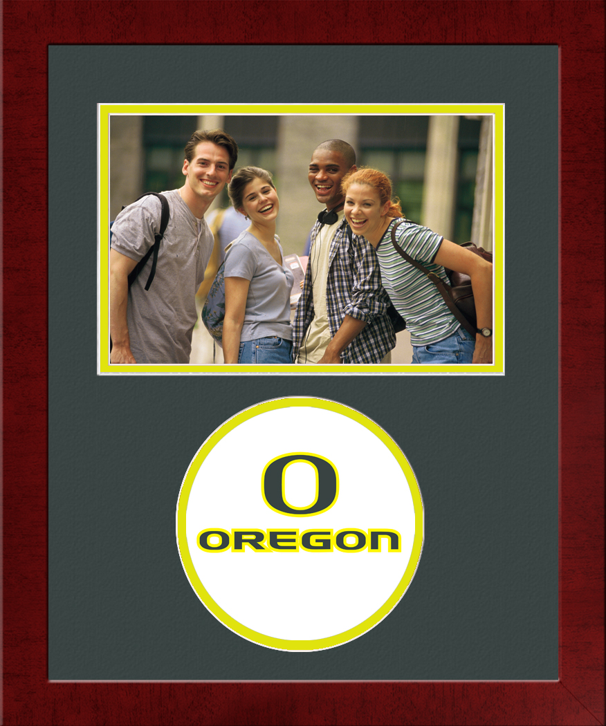 University of Oregon Spirit Photo Frame (Horizontal)
