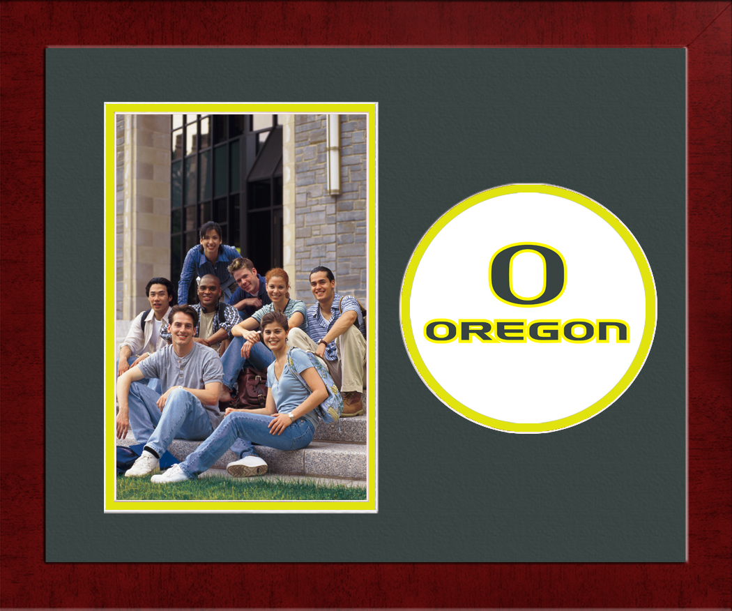 University of Oregon Spirit Photo Frame (Vertical)