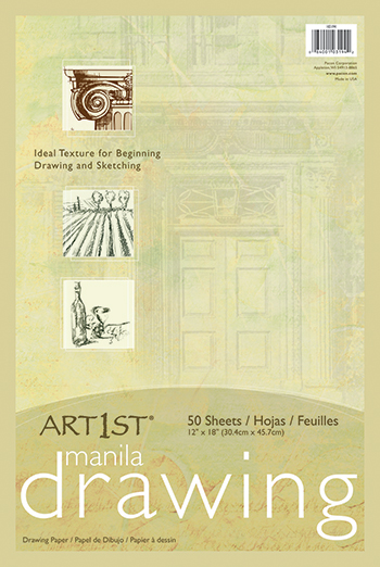 Cream Manila Drawing Paper 12 X 18 50shts - PAC103194