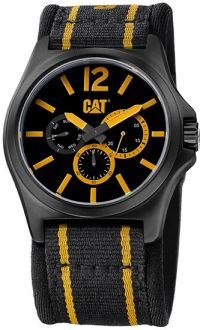 CAT PK16961137 DP XL MULTIFUNCTION Blk/Yellow Dial / Blk/Yellow N Watch