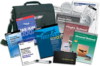 Part 141 Student Pilot Kit/includes: The Pilot's Manual: Flight School, The Pilots Manual: Private And Commercial Asa Short Fuel Tester, Stage Exams, Pre-solo Written Exam, The Pilots Manual: Private Pilot Syllabus&amp