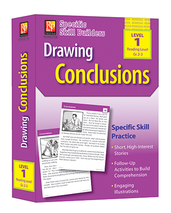 Drawing Conclusions Reading Level 1 Gr 2-3 Specific Skill Builders - REM2010A
