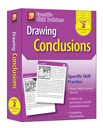 Drawing Conclusions Reading Level 2 Gr 3-4 Specific Skill Builders - REM2010B