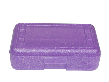 Pencil Box Purple Sparkle - ROM60250 - ROM60250