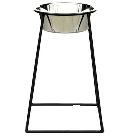 PetsStop Tall Pyramid Elevated Dog Feeder - RSB4