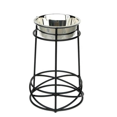 PetsStop Tall Mesh Elevated Dog Bowl - Large - RSB5 - RSB5