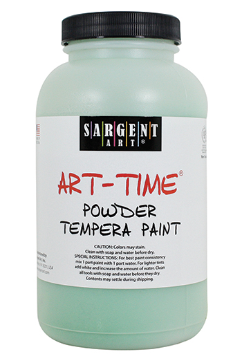 Green Powder Tempera Paint 1lb - SAR227166 - SAR227166