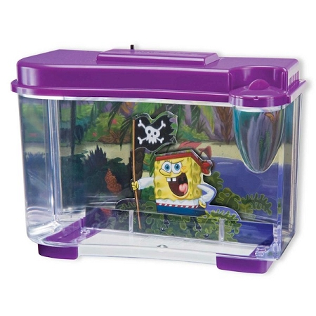 Penn Plax 3-D SpongeBob Pirate Aquarium - SBK105
