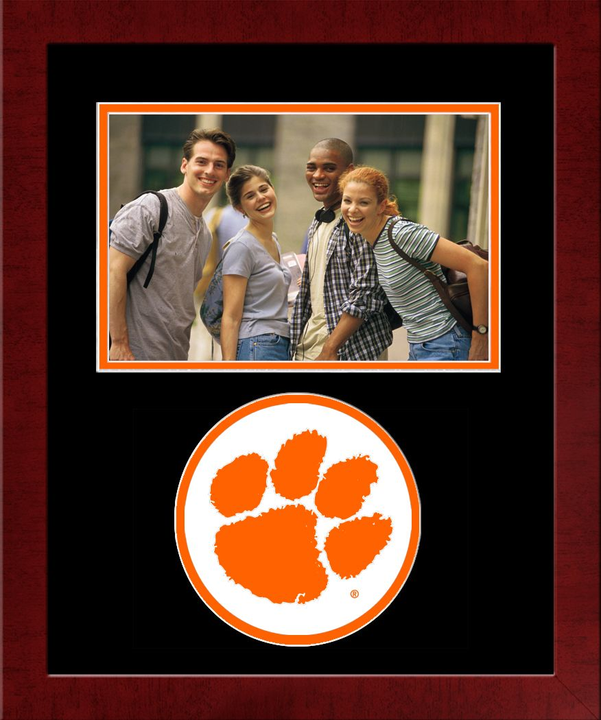 Clemson University Spirit Photo Frame (Horizontal)
