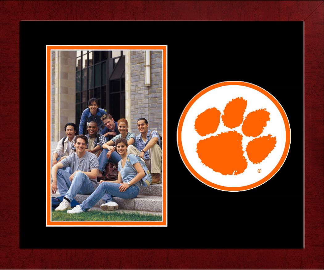 Clemson University Spirit Photo Frame (Vertical)