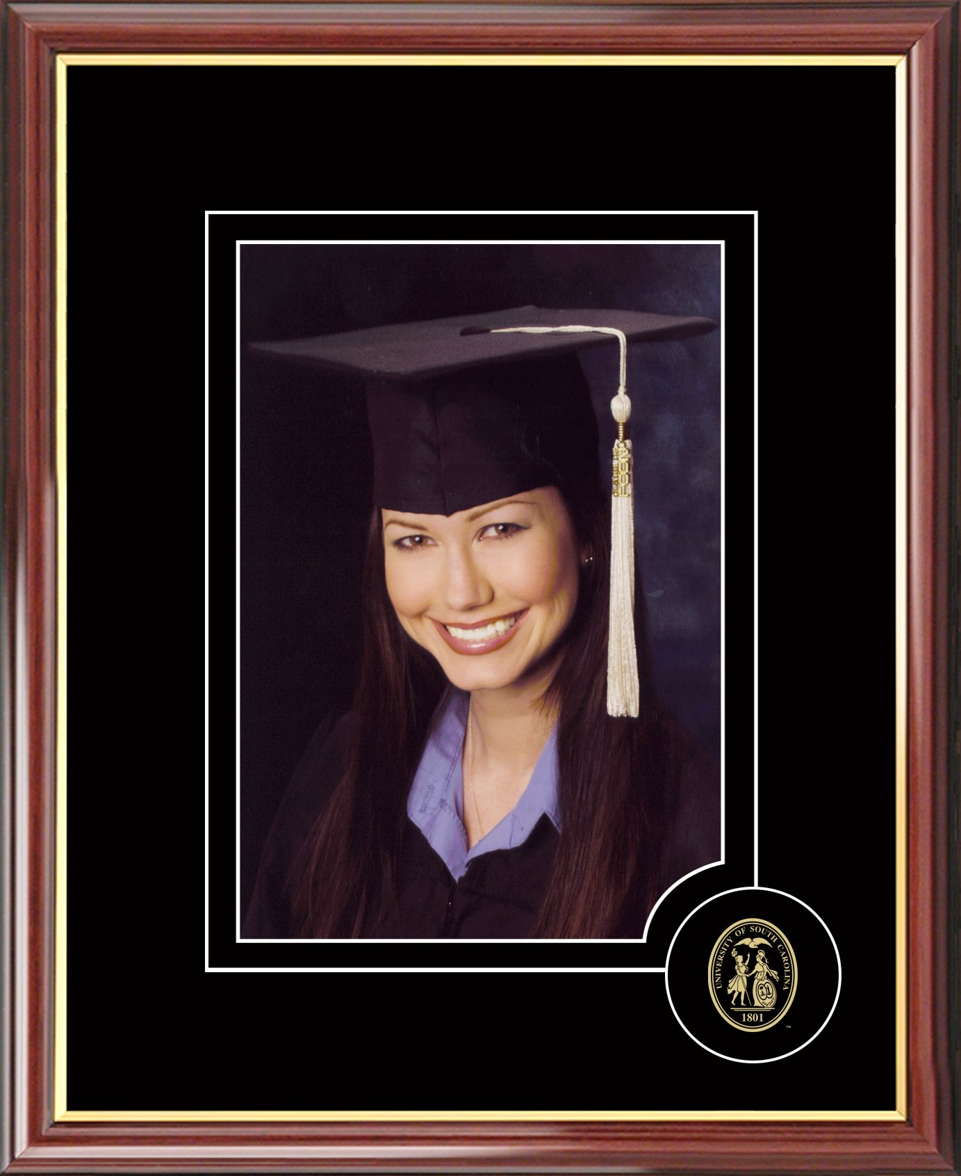 University of South Carolina 5X7 Graduate Portrait Frame