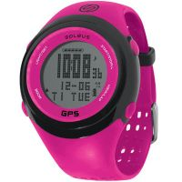 Soleus SG100611 GPS FIT Black / Pink USB Upload/Charge Watch
