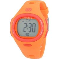 Soleus SH005810 Flash HRM Orange Includes Chest Strap Alarm,, Chrono Watch