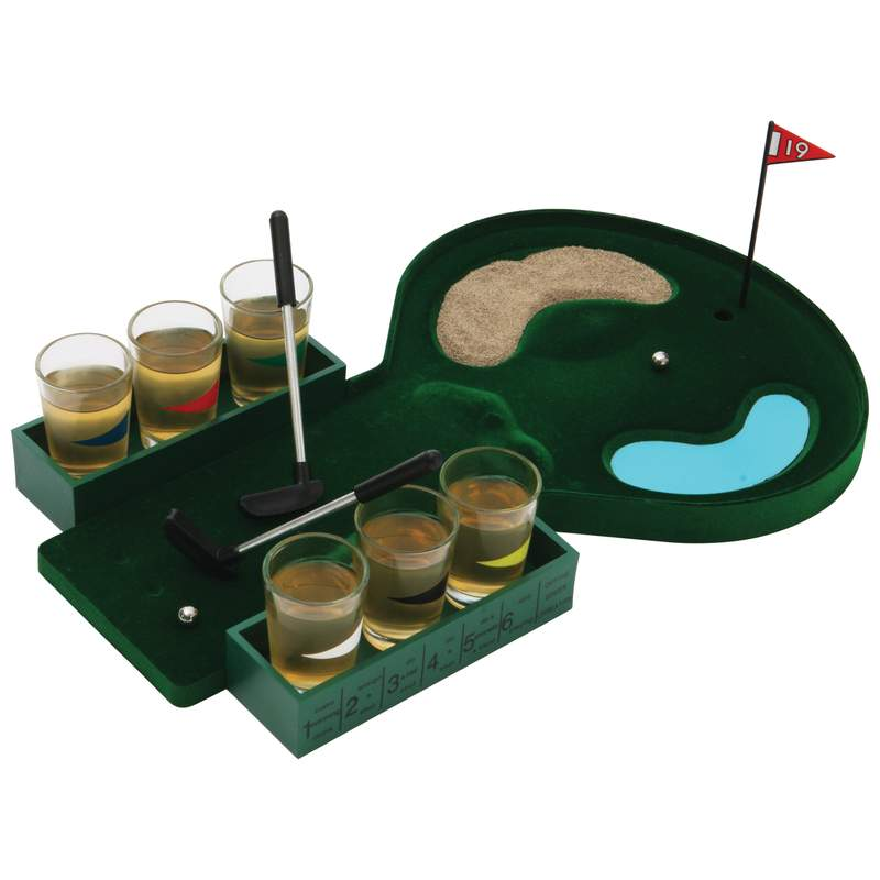 Maxam™ 6-shot Drinking Golf Game - SPDGOLF