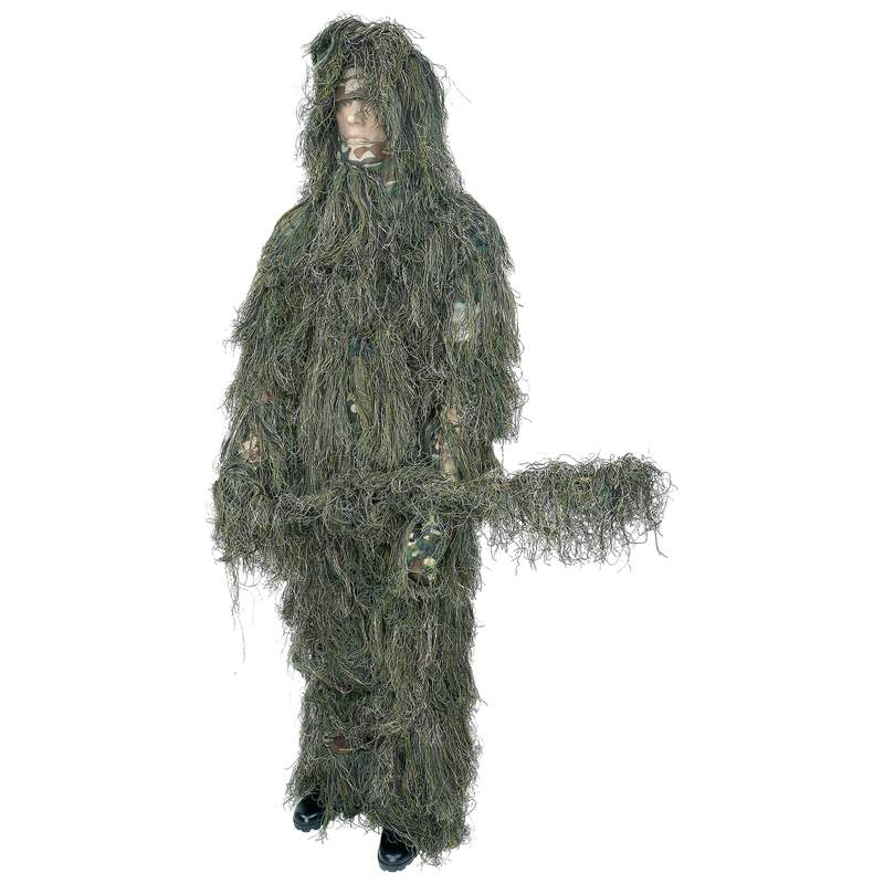 Classic Safari™ 4pc Woodland Ghillie Suit - Medium/large - SPGHILML