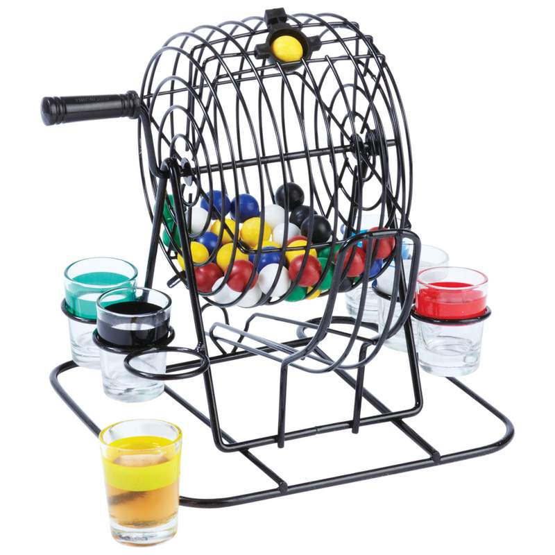 Maxam™ 55pc Lottery-style Drinking Game - SPLOT