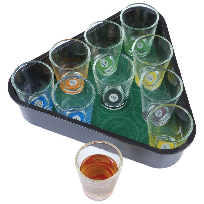 Maxam™ 11pc Pool Drinking Game Set - SPPOOL