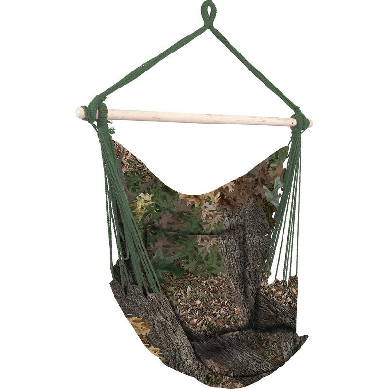 Club Fun™ Camo Hanging Rope Chair - SPSWING5